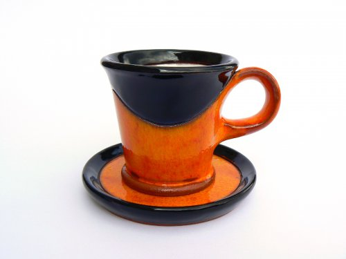 Café Ristretto Orange&Black