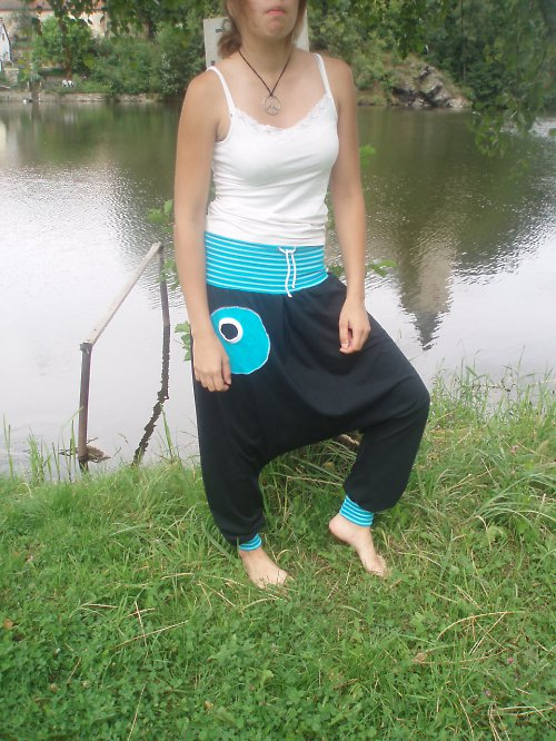 Turecké kalhoty- dlouhé