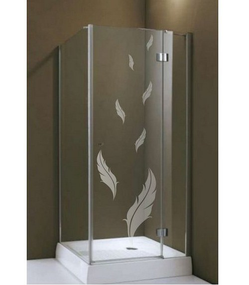 (047g) Nálepka na sprchovací kút