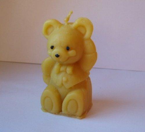 svíčka medvěd2