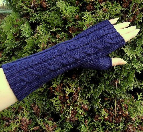 Pletené návleky na ruce Viola