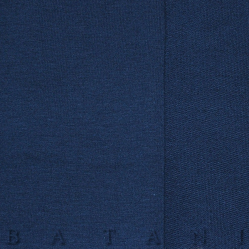 Teplákovina elastická tmavě modrá