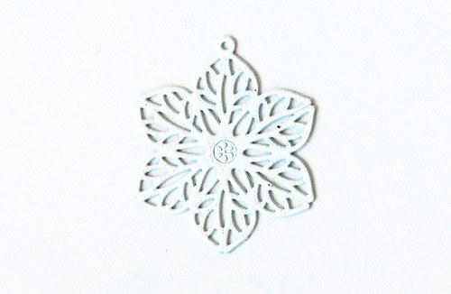 Měděný květ - bílý