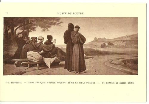 Umělecká pohlednice F.L.Benouville