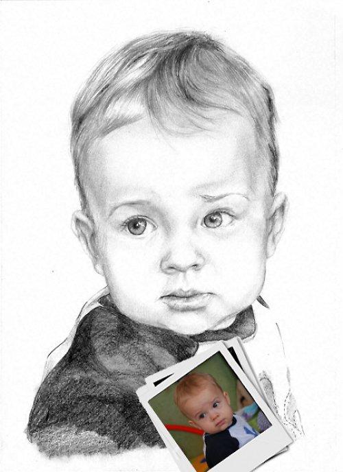 Portrét pro Vaše blízké :)..jedna osoba A3