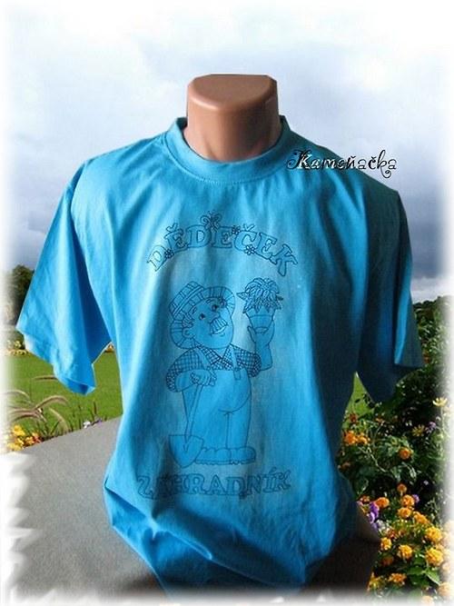Pánské tričko-dědeček zahradníček