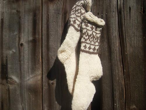 valašské ponožky - dámské
