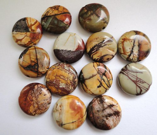 Minerál jaspis picasso - placička