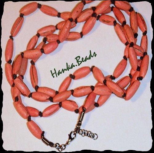 náhrdelník Růžové burizony