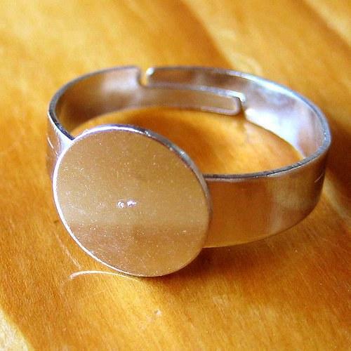 Prsten 10mm - 2ks - Platinový