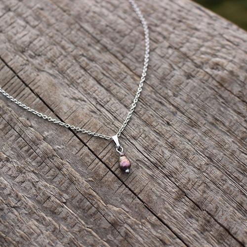 Roxia • říční perlička, nerez. ocel
