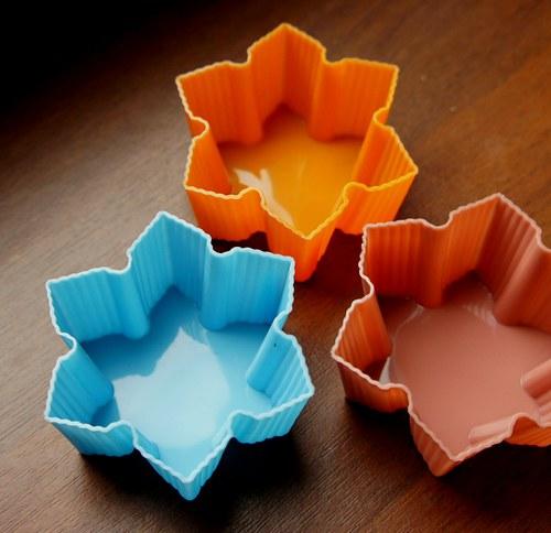 Silikonová forma na mýdlo - květ