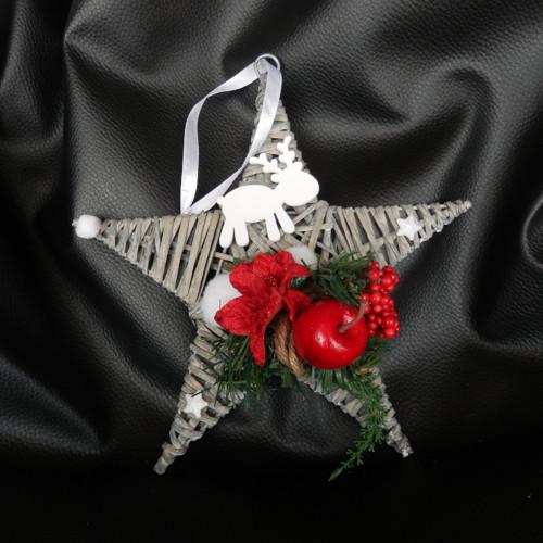 Vánoční dekorace hvězda