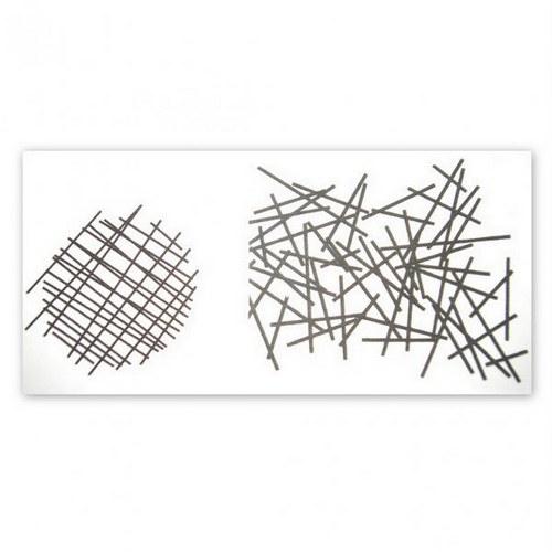 Silk Screen šablona / Crossed sticks