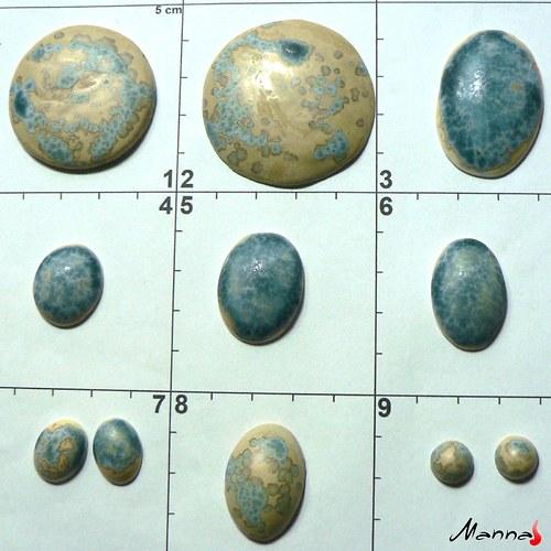 Kabošony porcelánové a kameninové mix efektní