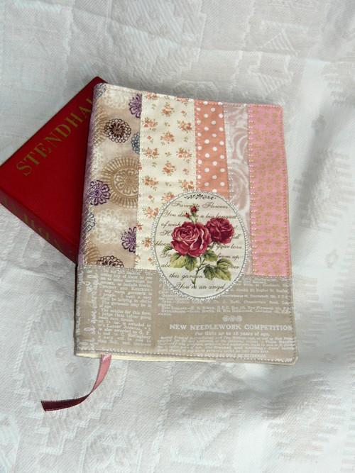 Obal na knihu/diář - Růže