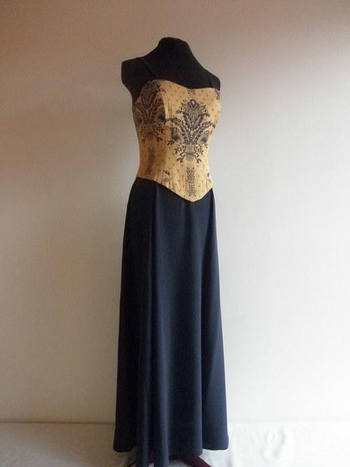Korzetové šaty č.67-vel.42