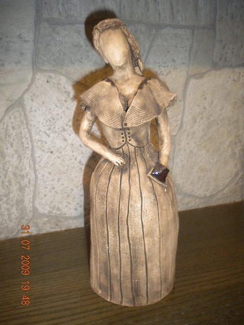 keramika-panny-výběr z 5ti kusů