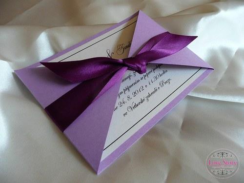 Svatební oznámení Elegant