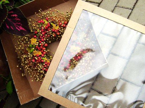 dárková krabice na  věnce