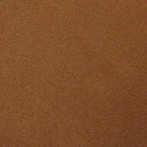 Plsť 20x30 cm, 1 ks, hnědá, gramáž 165 g/m2