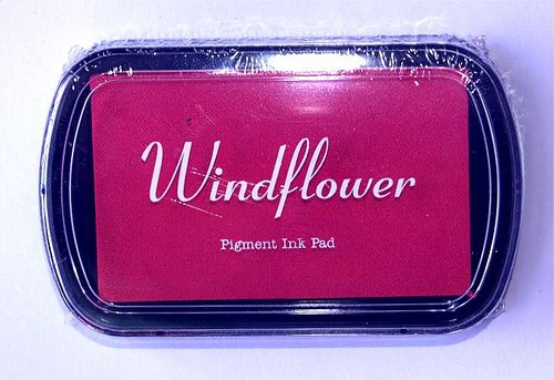 Razítkovací polštářek Windflower růžová