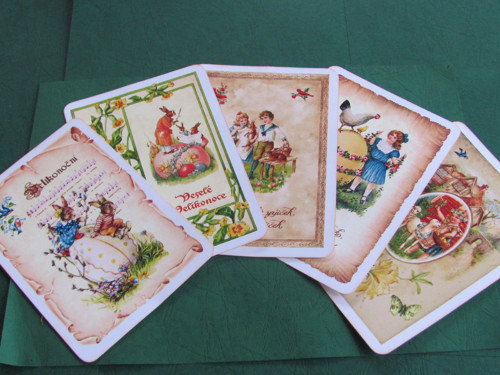 Velikonoční pohlednice  - sada č. 6