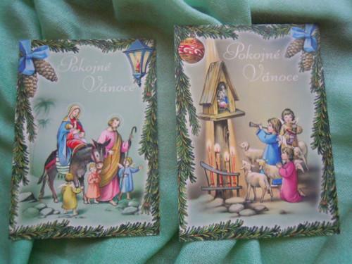 Vánoční pohlednice č.2