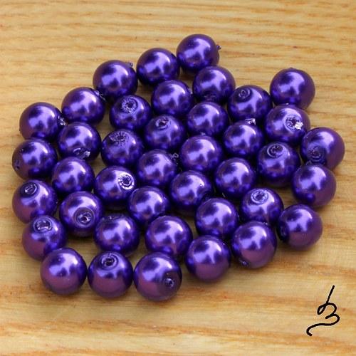 Voskovky fialové TM 6 mm, 40 ks