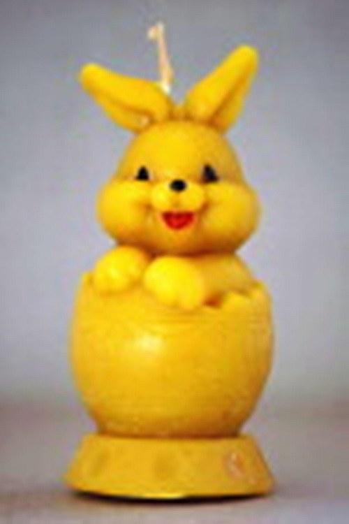 svíčka zajíček ve vajíčku