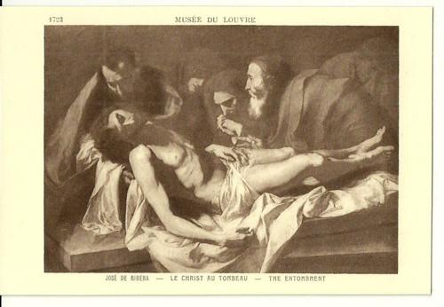 Umělecká pohlednice Jose De Ribera