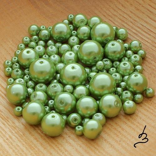 Voskové perle zelené SV - 50 g