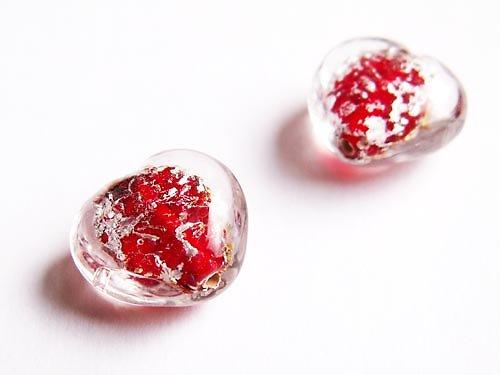 Červenostříbrné srdíčko ((V60))