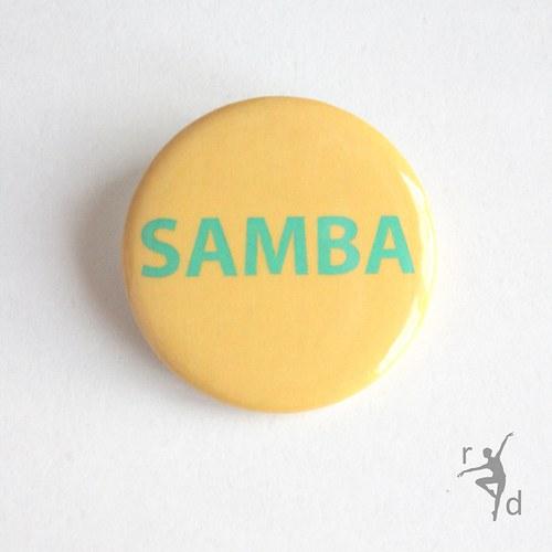 Placka SAMBA (Odznak) - Doprodej