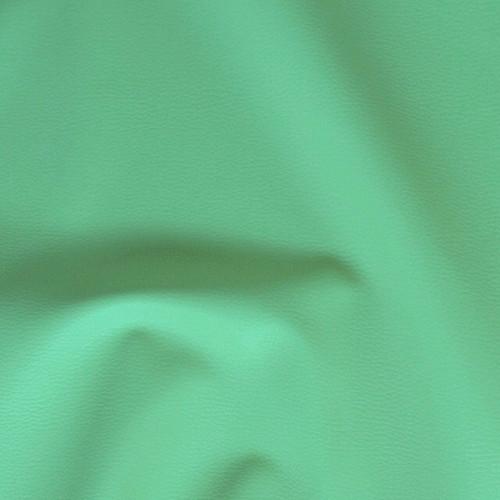 Z1  Textilní kůže - koženka SVĚTLE ZELENÁ , á 1m