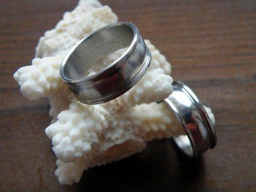Prsten z nerezové oceli