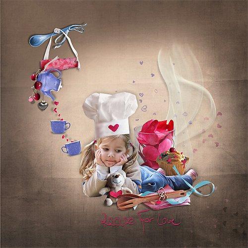Koláž Kuchařská pro Vaše fotky