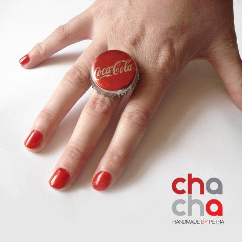 Prstýnek Coca Cola