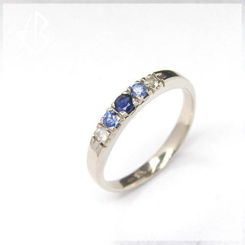 "prsten \""modrá vlna\"""