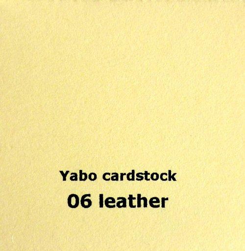 Čtvrtka Yabo - Leather