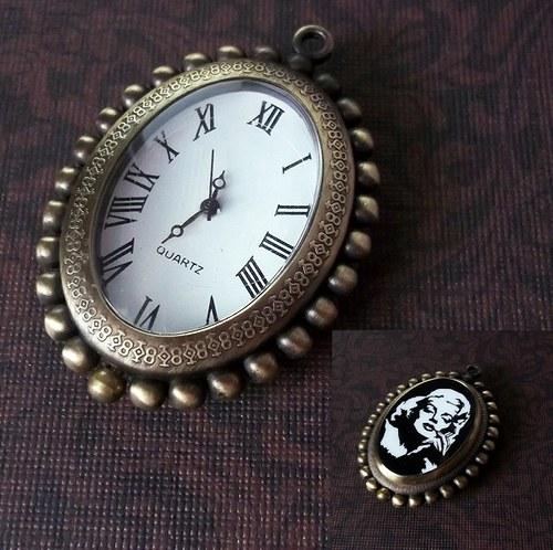 Oboustranné vintage hodinky - Marilyn Monroe