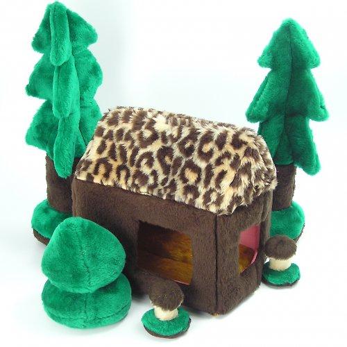 Skládací domeček - autorská hračka