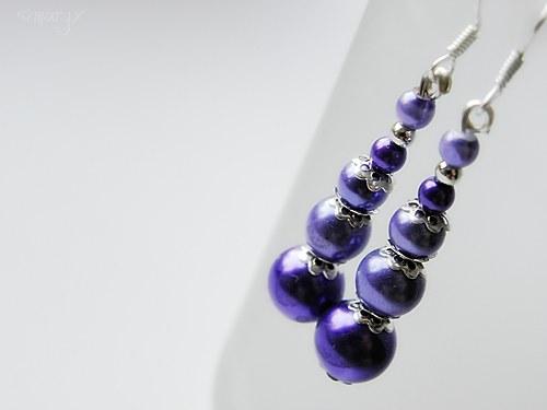 Fialové perly