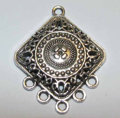 STR836 Tibetské stříbro Kosočtverec