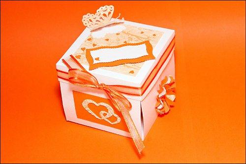 Svadobná krabička na darovanie peňazí