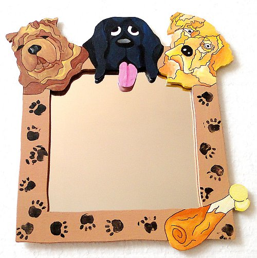 Zrcadlo - psí