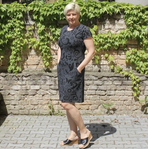 Šaty - kolekce ELSA - vel. M - letní verze