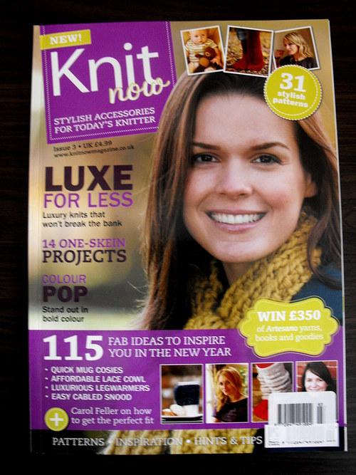 Časopis Knit now č.3 2012