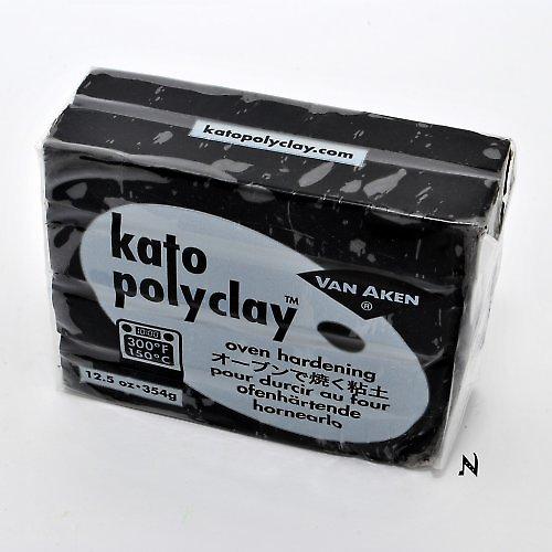 Kato Polyclay velké balení / Černá