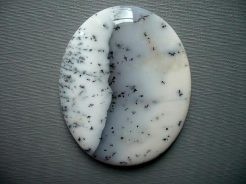 Kabošon dendritického opálu 44 mm, č.10